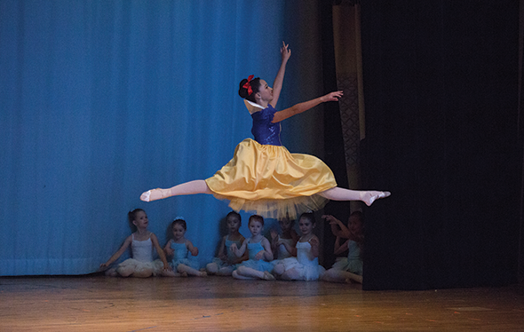 Snow White Ballet Spring Performance MAB